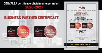 CENVALSA certificado nVent 2020-2021