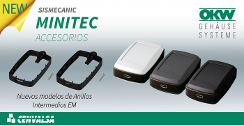 OKW: Nuevos accesorios para cajas MINITEC EM