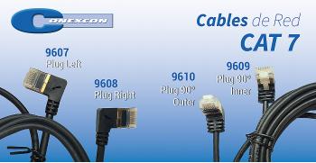 CONEXCON: Nuevos Cables de Red CAT 7