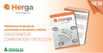 Novedad Herga: Aprobación médica 60601-1 para el sistema de interruptor de pedal modular.
