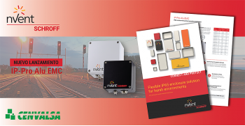 nVent SCHROFF: Nuevas Cajas IP65 para proteger la electrónica sensible