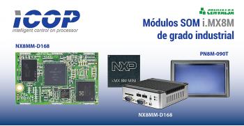 ICOP: Módulos SOM i.MX8M de grado industrial