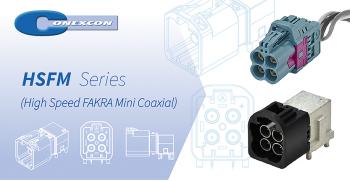 CONEXCON: Nueva Serie HSFM (High Speed FAKRA Mini Coaxial)