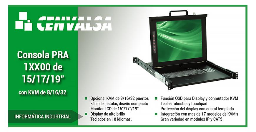 """Novedades en Informática Industrial: La Consola PRA-1XX00 de 15/17/19"""""""
