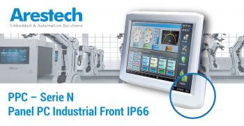 Nuevas Series N: Panel PC industrial Front IP66