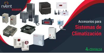 nVent SCHROFF: Accesorios para Sistemas de Climatización
