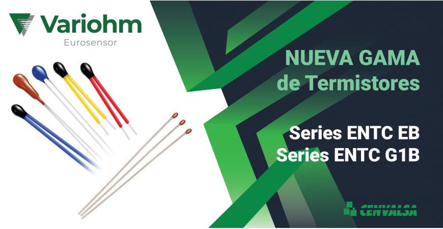 Variohm: Nueva gama de termistores NTC