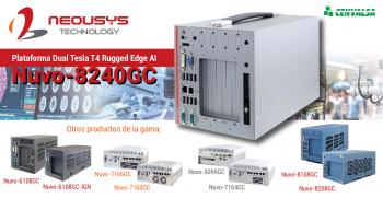 Neousys: Nuevo sistema embebido resistente Nuvo-8240GC