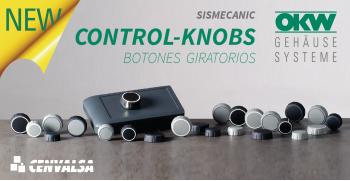 CONTROL-KNOBS: Los nuevos botones giratorios de OKW