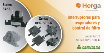 Herga: Interruptores para respiradores y control de filtro