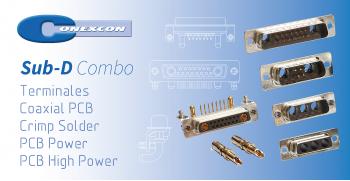 Sistema SUB-D COMBO de Conexcon