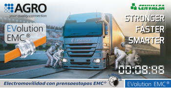 AGRO: Electromovilidad con prensaestopas Evolution EMC®