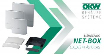 NET-BOX: Las Cajas Plásticas de OKW de montaje en pared aún más fácil