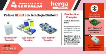 Pedales HERGA con Tecnología Bluetooth