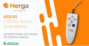 Herga: Serie 6310 con control de operador de 1 a 8 funciones