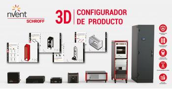 nVent SCHROFF: Nuevo Configurador de Producto 3D