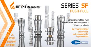 CONEXCON: Series SF IP67 (PUSH-PULL) de Weipu