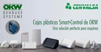 Cajas plásticas Smart-Control de OKW, una solución perfecta para esquinas