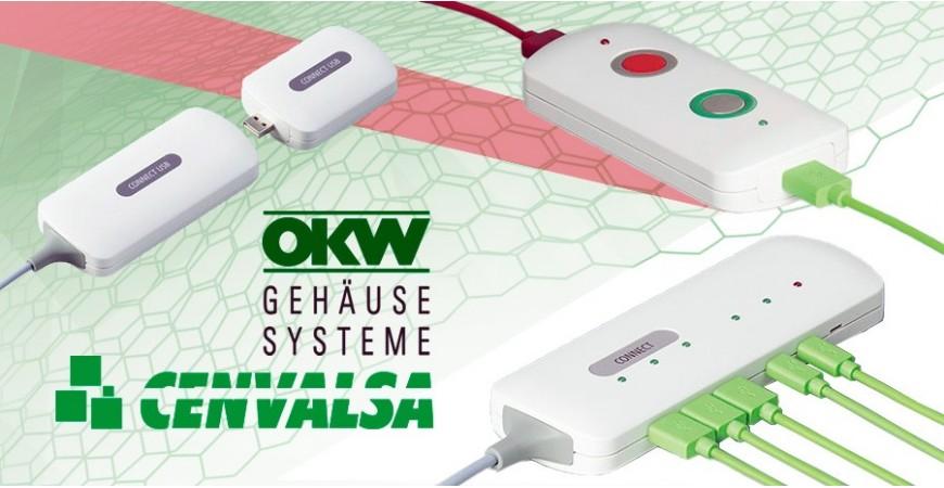 Las cajas de OKW pensadas para aplicaciones con cable