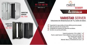Nuevo VARISTAR SERVER: Soluciones para infraestructura de TI y centro de datos