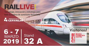 Confirmamos nuestra participación en RAIL LIVE: Edición 2019