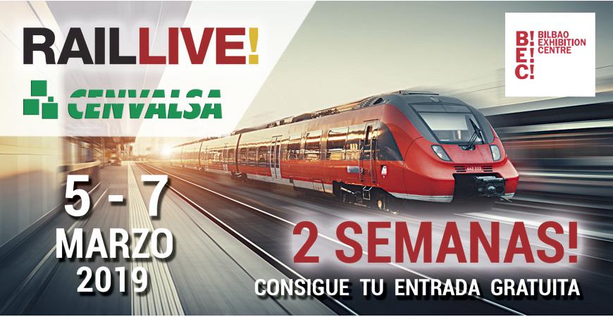 2 Semanas para RAIL LIVE