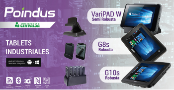 Nuevas Tablets Industriales Robustas y Semi robustas: VariPAD W, G8s y G10s