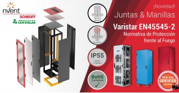 Nuevas Juntas & Manillas Varistar EN45545-2: Normativa de Protección frente al Fuego de la firma NVENT SCHROFF