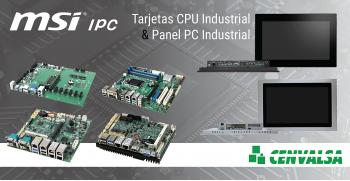 Soluciones de Plataforma Industrial: MSI IPC