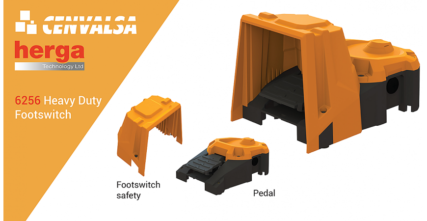 6256 Heavy Duty Footswitch: el nuevo pedal de Herga