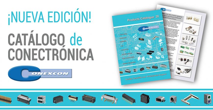 ¡NUEVA EDICIÓN!  Catálogo de Conectrónica