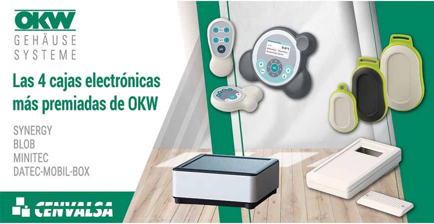Las 4 cajas electrónicas más premiadas de OKW