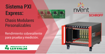 Nuevo Chasis PXI Express de nVent SCHROFF