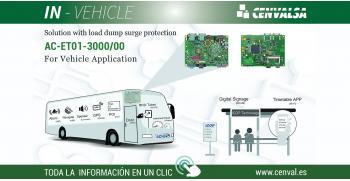 IN-VEHICLE: Protección de vehículos contra tensiones de sobrecarga