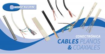 CONEXCON: Línea de Cables Planos y Coaxiales