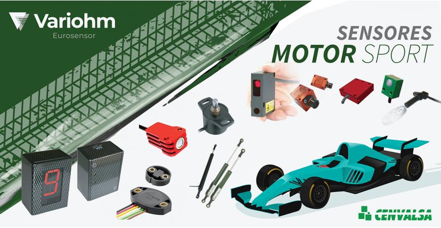 Sensores para deportes de motor de la firma Variohm