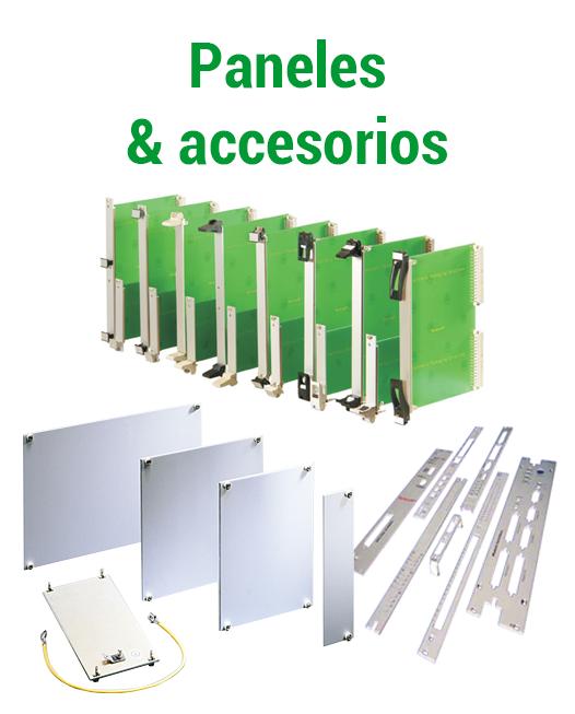 Paneles y accesorios