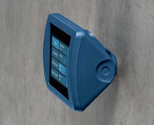 Cajas Smart Control de OKW en color azul