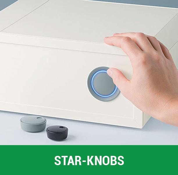 Botones giratorios Star-Knobs